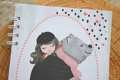 Papiernictvo - Zápisník pre dievčatko - 11274789_