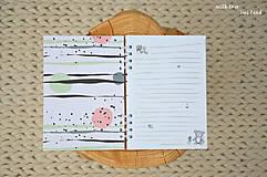 Papiernictvo - Zápisník pre dievčatko - 11274792_