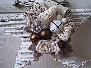 Dekorácie - Vianočná hviezda. - 11272484_