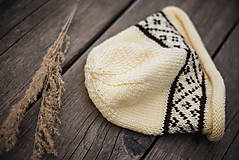 Detské súpravy - Set čiapka a šál - 11273158_