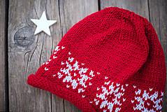 Detské súpravy - Červená karkulička- Set čiapka a šál - 11273253_