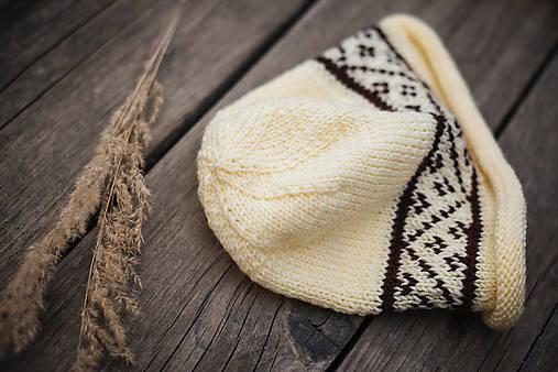 Set čiapka a šál