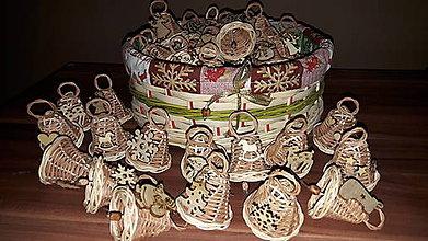 Dekorácie - Vianočné zvončeky - 11274348_