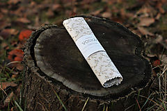Úžitkový textil - Voskovaný obrúsok Voskáč 37x37cm (konárik) - 11274755_