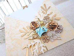 Papiernictvo - Vianočný anjel - 11272447_