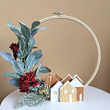 Dekorácie - Vianočná dekorácia na stôl - 11272601_