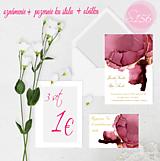 Papiernictvo - svadobné oznámenie 156 - 11274715_