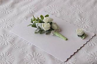 Papiernictvo - 3D pohľadnica -kytica - 11273467_
