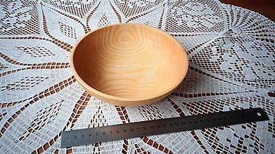 Nádoby - Miska z dreva (Jaseň) - 11272138_