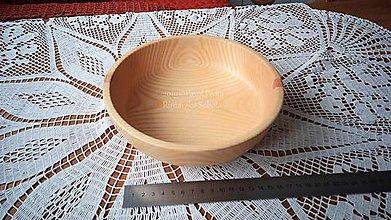 Nádoby - Miska z dreva (Jaseň) - 11272155_