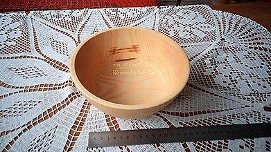 Nádoby - Miska z dreva (Jaseň) - 11272159_