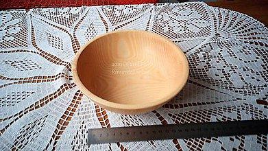 Nádoby - Miska z dreva (Jaseň) - 11272191_