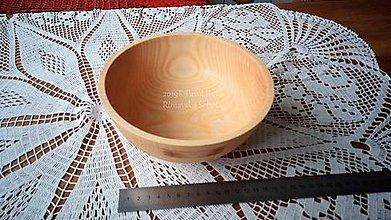 Nádoby - Miska z dreva (Jaseň) - 11272219_