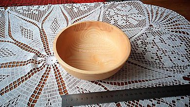 Nádoby - Miska z dreva (Jaseň) - 11272282_
