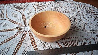 Nádoby - Miska z dreva (Jaseň) - 11272303_