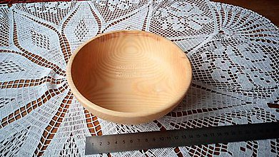 Nádoby - Miska z dreva (Jaseň) - 11272306_