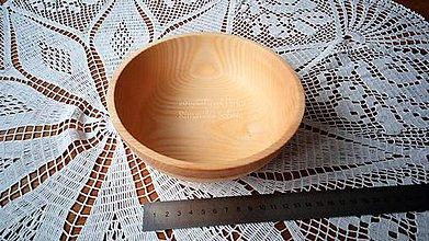 Nádoby - Miska z dreva (Jaseň) - 11272318_