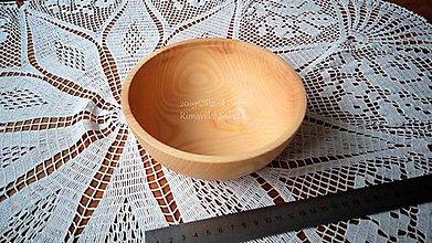 Nádoby - Miska z dreva (Jaseň) - 11272322_