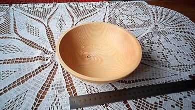 Nádoby - Miska z dreva (Jaseň) - 11272330_