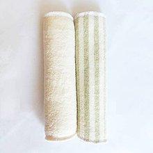 Úžitkový textil - Čistiace obrúsky z BIO bavlny (Béžová) - 11272332_