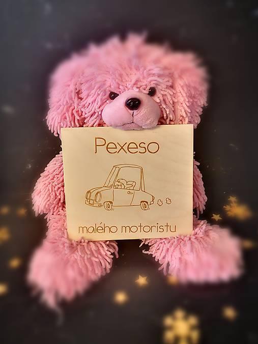 Drevené PEXESO - dopravné prostriedky