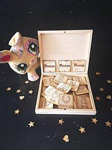 Hračky - Drevené PEXESO - móda a doplnky - 11271828_