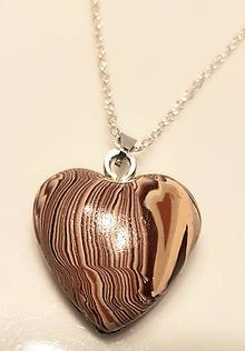 Iné šperky - Srdce - 11274322_