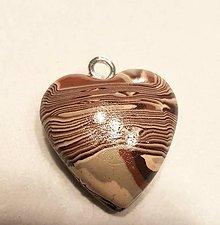 Iné šperky - Srdce 2 - 11274344_