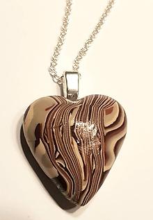 Iné šperky - Srdce 4 - 11274571_
