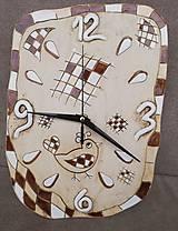 Hodiny - Keramické hodiny - 11271968_