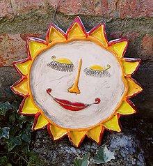 Dekorácie - Keramické slnko II. - 11272030_