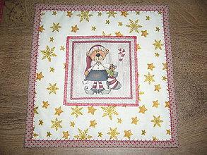 Úžitkový textil - Prestieranie Vianočné -1 - 11272955_