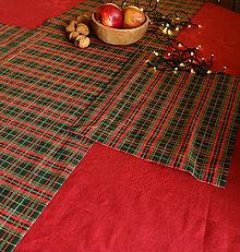 Úžitkový textil - Vianočný obrus - rôzne tvary a veľkosti (Anielsky ovál) - 11271748_