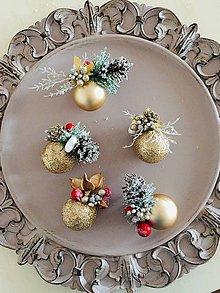 """Dekorácie - Vianočné ozdoby na stromček""""keď sa stromček ligoce""""-ozdoby - 11278074_"""