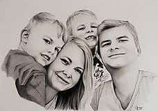 Kresby - Kresba - Rodinný portrét - 11275120_