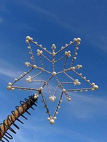 Dekorácie - Hviezda hviezd...špic na stromček - 11278174_