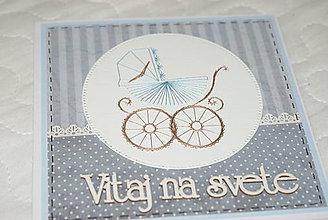 Papiernictvo - K narodeniu chlapčeka - 11276014_