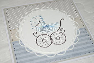 Papiernictvo - K narodeniu chlapčeka 2 - 11276035_