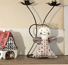 Dekorácie - Vianočná dekorácia - Anjel - 11277283_