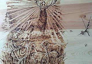 Hodiny - Hodiny sv. Hubert - 11275505_