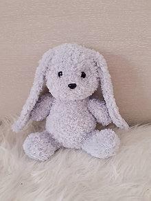 Hračky - Háčkovaný zajac - 11274867_
