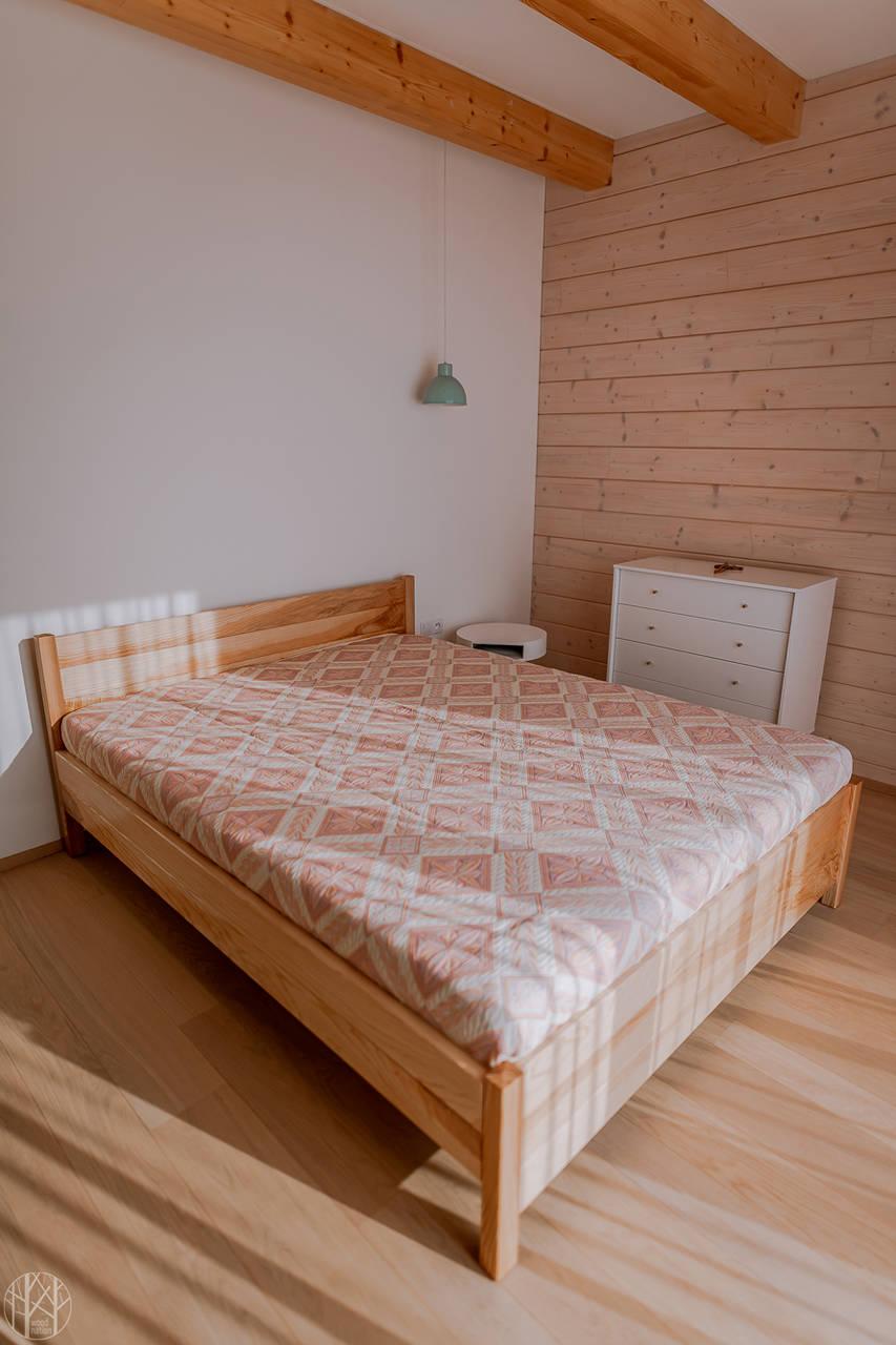 Nábytok - Masívna posteľ  - 11277657_