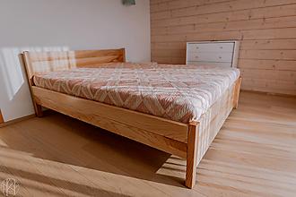 Nábytok - Masívna posteľ  - 11277648_