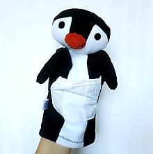 Hračky - Maňuška tučniak - Tučniačik z Ľadovej pláne - 11275367_