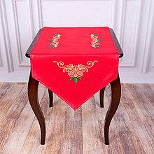 Úžitkový textil - Vyšívaná štóla 3 - 11274836_