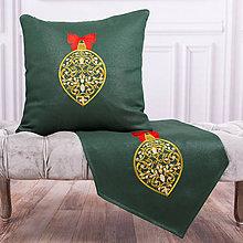 Úžitkový textil - Vyšívaná obliečka na vankúš 1 - 11274850_