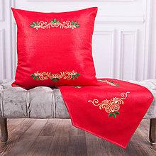 Úžitkový textil - Vyšívaná obliečka na vankúš 3 - 11274857_