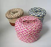 Košíky - Núbijský palmový kôš - 11276124_