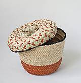 Košíky - Núbijský palmový kôš - 11276162_