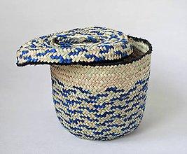 Košíky - Núbijský palmový kôš - 11276149_